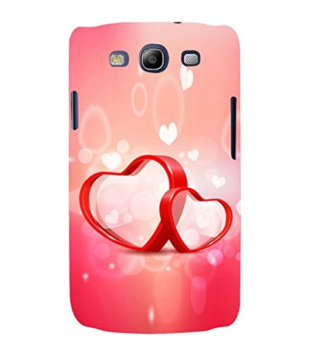 Fuson Designer Phone Back Case Cover Samsung Galaxy S3 Neo I9300I :: Samsung I9300I Galaxy S3 Neo :: Samsung Galaxy S Iii Neo+ I9300I :: Samsung Galaxy S3 Neo Plus ( Two Little Hearts Alongside )