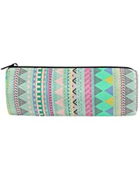 1fe4421739763 Pencil Case Pineapple Pattern School Pen Pouch Office Zippered Pencil Cases  Holder Women Makeup Bag