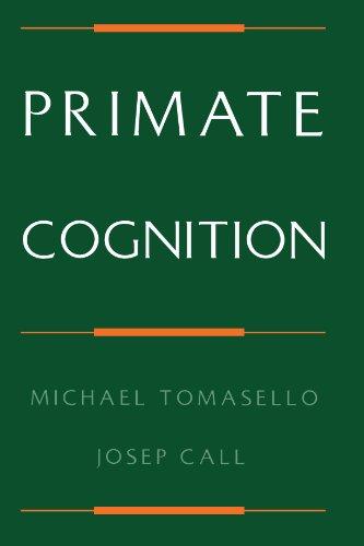 Primate Cognition por Michael Tomasello