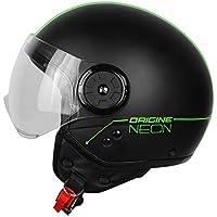 Caso para Moto Origine Neon Street Demi Jet - Color verde - Talla XS