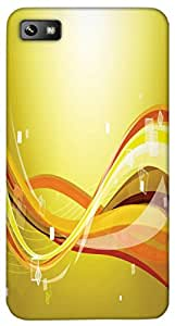 Timpax protective Armor Hard Bumper Back Case Cover. Multicolor printed on 3 Dimensional case with latest & finest graphic design art. Compatible with only Blackberry Z10. Design No :TDZ-20333