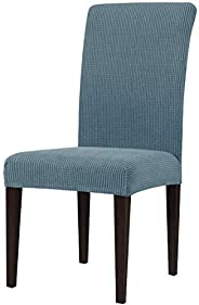subrtex Dining Room Stretch Chair Slipcovers Sets Stretch Furniture Protector Covers for chair Removable Washa