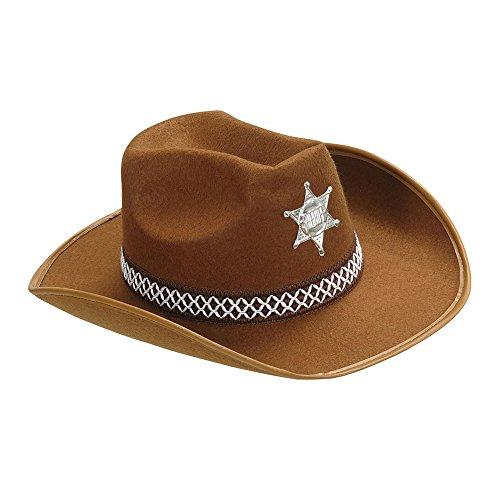 WIDMANN 2475K sceriffo cappello, taglia unica
