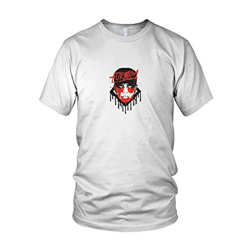 Furiosa - Herren T-Shirt, Größe: L, Farbe: - Mad Max Fury Road Furiosa Kostüm