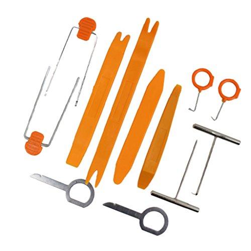Homyl Trim Panel Polsterung Entfernung Werkzeug Auto Radio Tür Clip Panel Trim Dash Audio Entfernen Pry Repair Tools Kit (Auto-kratzer-entfernung-kit)