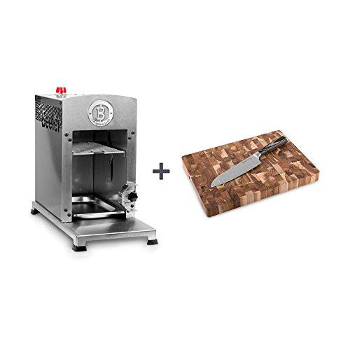 Beefer Grillgeräte Beefer Grillgerät One inkl. Zubehör im Wert von 49,90 Euro silber Edelstahl; Seite und Rückseite aus emailliertem Stahl