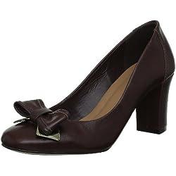 Via Uno 11275503, Damen Pumps, Braun (Chocolate), 41 EU