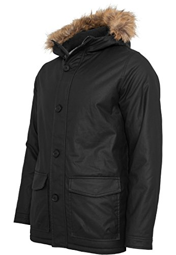 TB896 Coated Nylon Parka Winter Jacke Herren Kapuze - 2