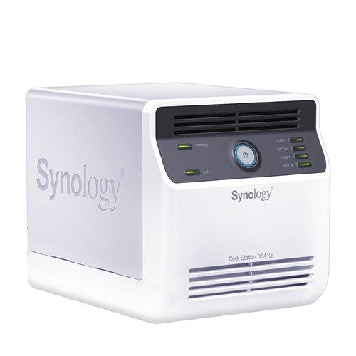 Synology DS410j NAS-System ohne Festplatte (800MHz, 128MB RAM)