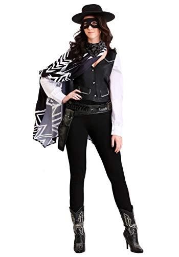 Outlaw Cowboy Kostüm - Women's Bad Bandit Fancy Dress Costume X-Large