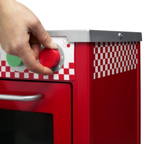 Imagen principal de Micki 10.2091.00 - Cocina de juguete con accesorios (62 x 50 x 30 cm), color rojo [importado de Alemania]