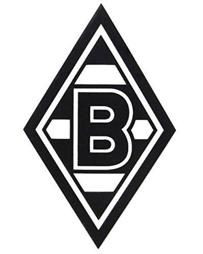 """AUFKLEBER STICKER \""""Raute\"""" schwarz VFL BORUSSIA MÖNCHENGLADBACH"""