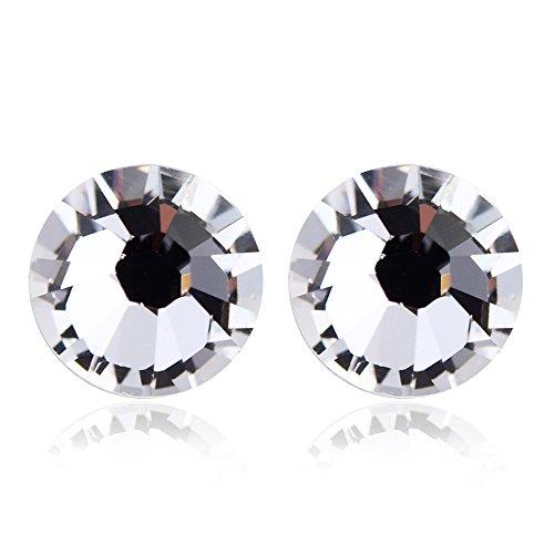 Österreichischen Kristall Ohrstecker schönen Schmuck Ohrringes Klar - Ohrstecker Kristall