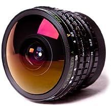 Peleng 8 mm f3,5 objetivo ojo de pez para M42 de cámaras de fotos