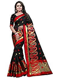 [Sponsored]Ecolors Fab Women's Cotton Silk Saree With Blouse Piece (EC_500_Mango_Series_2018_Sarees)