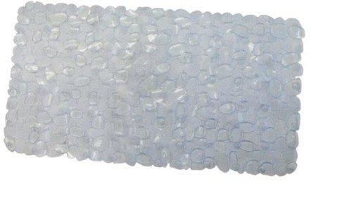 Maurer 4042505 - alfombra baño antidesl.stone 69x36 trans