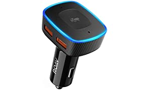 Roav VIVA von Anker, Alexa-fähiges 2-Port USB-Autoladegerät für GPS, freihändiges Telefonieren & Musikwiedergabe, Kompatibel mit Android und iPhones