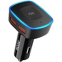 Cargador de Coche con 2 Puertos USB para navegar en el Coche, Llamadas Manos Libres y música de Roavvia, de Anker, Alexa. Usuarios de iPhone: Actualizar a la última iOS (11,4)