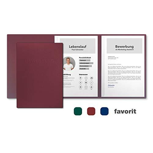 20x Durable Bewerbungsmappen SWINGCLIP  verschiedene Farben