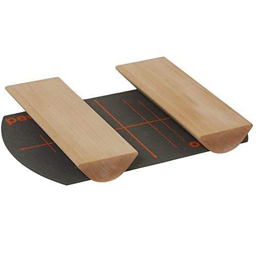 pedalo Fußwalzen I Beinachsentraining I Fußverschraubung I Fußdehnung I Fußkräftigung I Fußtrainer Holz