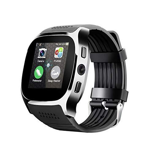 Huihuiya My-T8 HD 2MP Kamera 1,5 Zoll TFT LCD-Touchscreen Bluetooth Sport Smart Watch-Schwarz