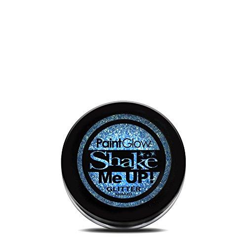 (Paint Glow Shake Me UP! UV Glitter Shaker Ice Blue 4g)