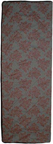 Preisvergleich Produktbild Grüezi-Bag WellhealthBlanket Wool Deluxe, wendbare Wolldecke, 200 x 150 cm, 1600g, Polyester/Wolle, gerollt ca. 21 x 37 cm, Hüttendecke, grau/berry