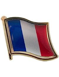 TRIXES Metal French Flag Pin Badge Enamel