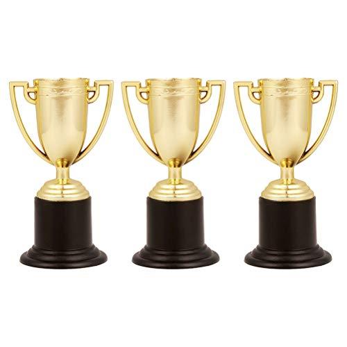 ophy Student Sports Award Trophäe Belohnung für Sportwettkämpfe 3 Stück (Gold) ()