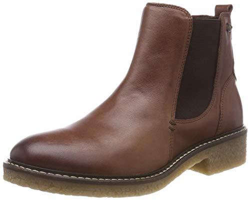 camel active Damen Palm 74 Chelsea Boots, Braun (Cognac 2), 41 EU (7.5 UK)