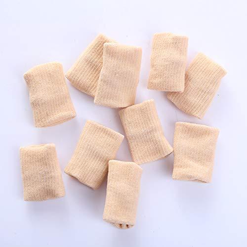 TOPmountain Elastic Finger Sleeves Unterstützung Thumb Brace Protector Atmungsaktiv Elastic Finger Tape für Tennis, Baseball, Radfahren, Volleyball, Badminton (Soccer Sock Tape)