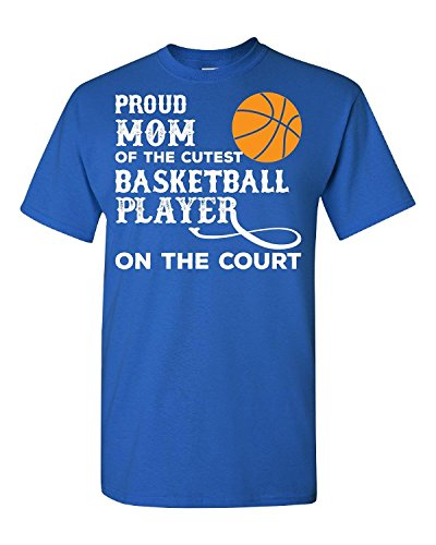Elagos Proud Mom Of The Cutest Basketball Player - Adult Shirt X-Small par  Elagos