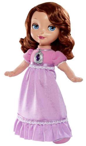 Mattel Disney Princess - Bgt60 - Jouet De Premier Age - Disney Sofia The First Bedtime Doll