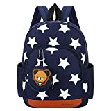 Cosyres Star Toddler Kids Backpack Rucksack for Boys/Girls Kindergarten Backpack for Nursery Dark Blue