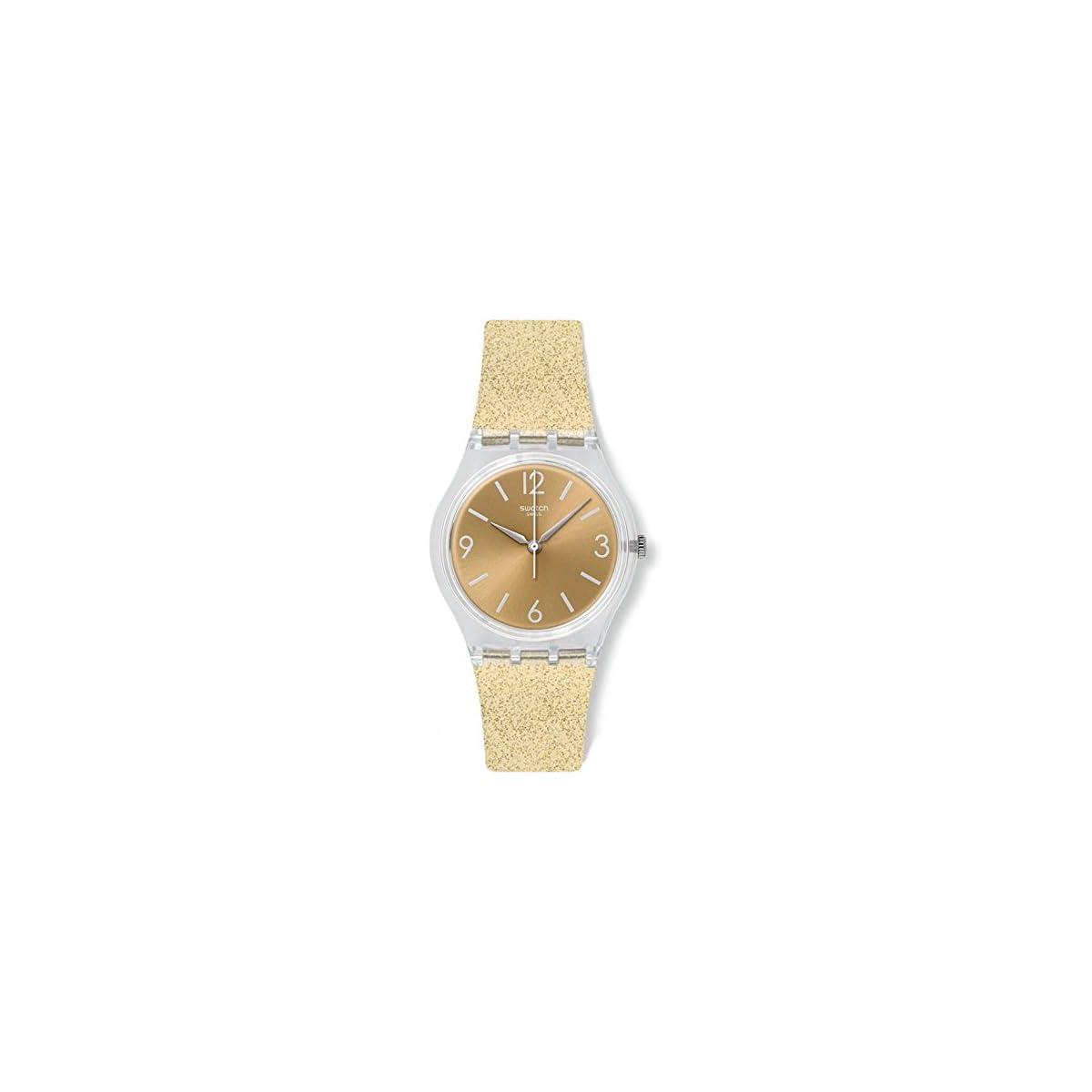 41rrEzfhviL. SS1200  - Swatch Reloj Digital de Cuarzo para Mujer con Correa de Silicona - GE242C