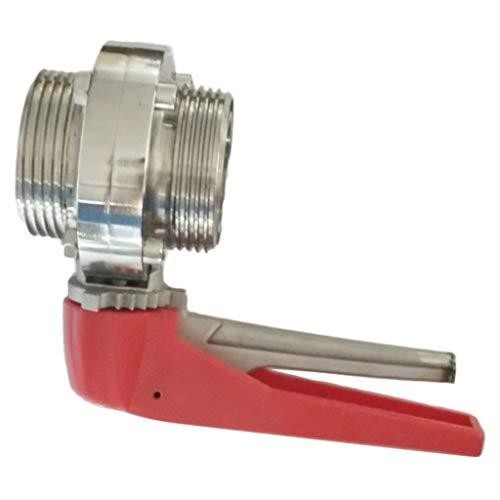 perfk Hochwertig Absperrventil Absperrhahn Kugelventil Kugelhahn für Zuhause Fabrik und Schule - 45 mm
