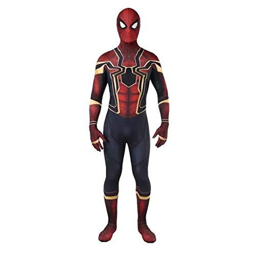 YUNMO Rubies Jungen Spiderman Kostüm Kids Avengers Fancy Jumpsuit (größe : ()