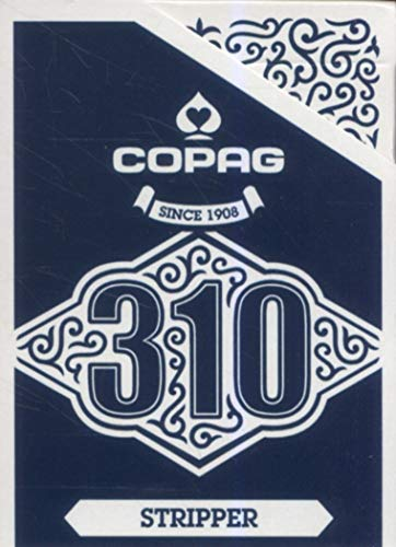 Copag 310 - Stripper Deck, Trickkarten mit True Linen B9 Finish (Der Corporate-karte)