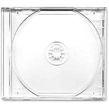Carátula CD Fundas Dobles Transparente Bandeja-negro Mark 50