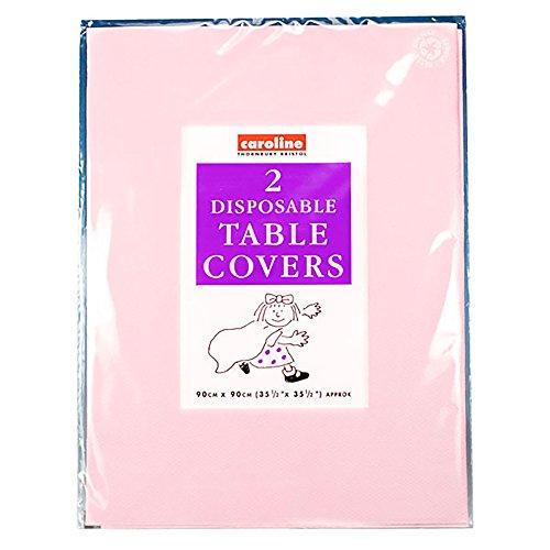 Caroline - tovaglie di carta quadrate - pacco da 10 (taglia unica) (rosa)