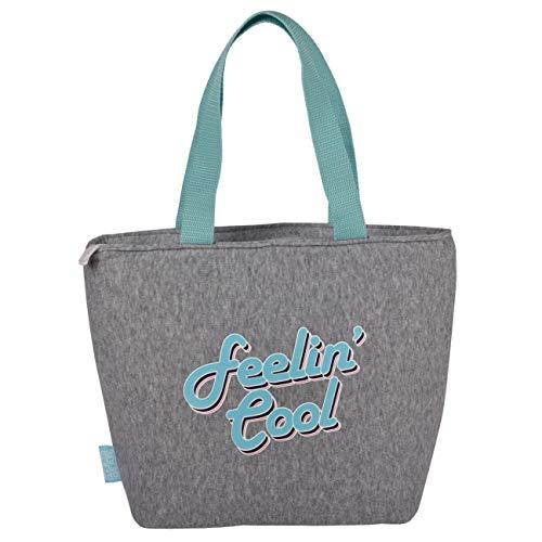 Polar Gear Lunch-Tasche, Polyester, außen, Grau, Einheitsgröße (Lunch-box Gear Polar)