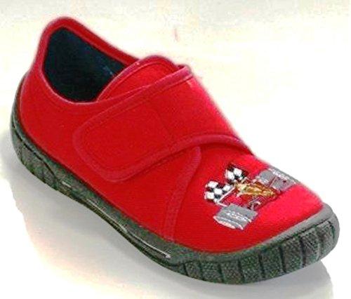 Superfit Bill 20027180 Jungen Hausschuhe Rot (Red)
