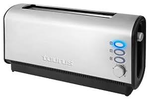Taurus 960997000 Planet Legend Grille-Pain 1 Fente 900 W Acier Inoxydable