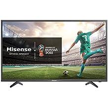 "Hisense H32NEC2000S TV LED HD 32"", Design Pulito ed Elegante, 3HDMI, Hotel Mode e USB media player, DVB-T2/S2 (HEVC)"