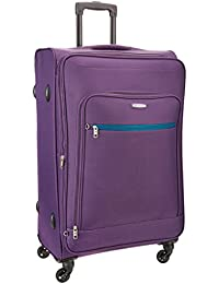 Aristocrat Arctic Polyester 76 cms Soft Sided Suitcase