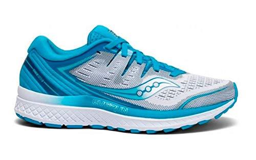 Saucony Damen Guide Iso 2 Laufschuhe, Blau (Blue 36), 40.5 EU - Saucony Schuhe Blau
