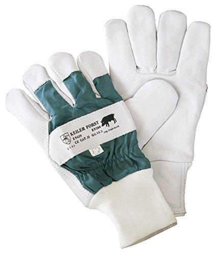 KEILER FORST, Rindnarbenlederhandschuh EN 388+EN420, Kat. 2, Größe 9