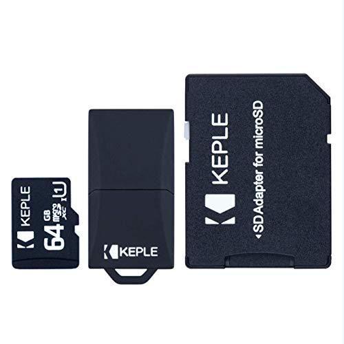scheda di memoria micro sd da 64 gb | microsd compatibile con samsung galaxy s9+ s9 s8 s7 s6 s5 s4 s3, j9 j8 j7 j6 j5 j3 j2 j1, a9 a8 a7 a6 a6+a5 a4 a3, note 9 8 7 6 5 4 3 2, pro, edge | 64 gb