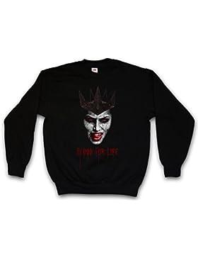 Vampire Blood FOR Life Sweatshirt - Sangre Vampiro True Bite Teeth Jaws Blood Dracula Blood Count Bat Horror Hammer...