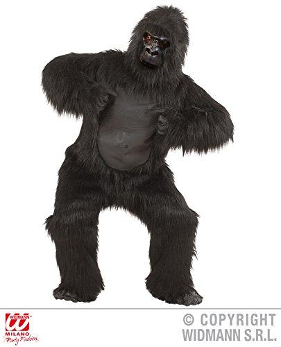 GORILLA Maskottchen Kostüm Plüsch abnehmbarer Kopf (Gorilla Kopf Kostüm)